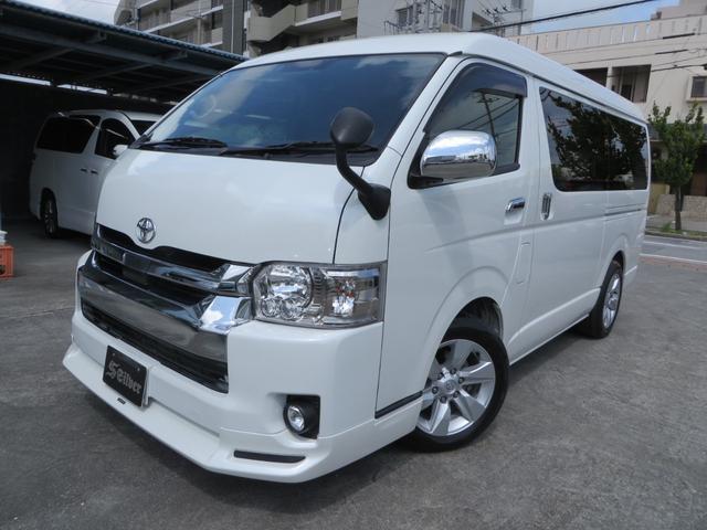 沖縄の中古車 トヨタ ハイエースワゴン 車両価格 328万円 リ済込 2019(令和1)年 0.2万km パールホワイト
