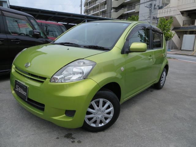 沖縄の中古車 ダイハツ ブーン 車両価格 15万円 リ済別 2009(平成21)年 8.5万km グリーン