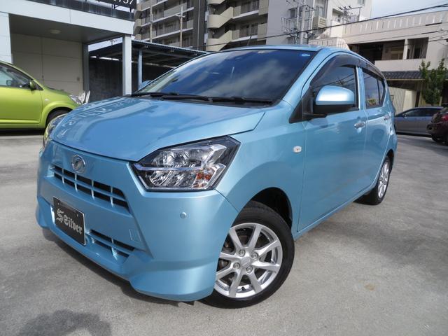 沖縄の中古車 ダイハツ ミライース 車両価格 79万円 リ済込 2018(平成30)年 2.1万km ライトブルー