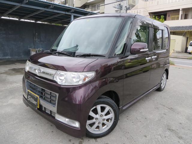 沖縄の中古車 ダイハツ タント 車両価格 27万円 リ済込 2008(平成20)年 10.5万km ワインレッド