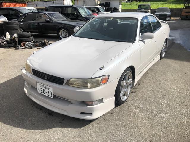 沖縄の中古車 トヨタ マークII 車両価格 ASK リ済込 1993(平成5)年 4.8万km パールホワイト
