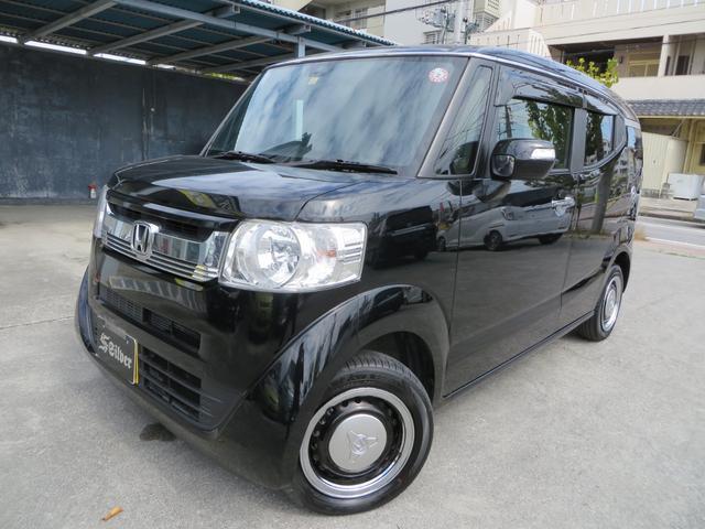 沖縄の中古車 ホンダ N-BOXスラッシュ 車両価格 134万円 リ済込 2017(平成29)年 1.9万km ブラック