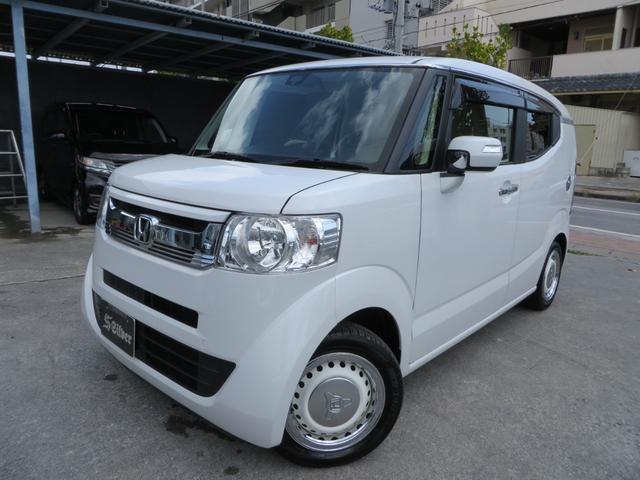 沖縄の中古車 ホンダ N-BOXスラッシュ 車両価格 134万円 リ済込 2018(平成30)年 0.5万km パールホワイト