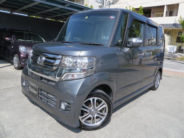 沖縄の中古車 ホンダ N-BOX 車両価格 98万円 リ済込 2016(平成28)年 3.1万km ガンM