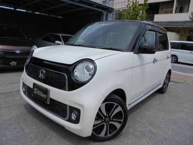 沖縄の中古車 ホンダ N-ONE 車両価格 49万円 リ済込 2013(平成25)年 11.8万km ツートン