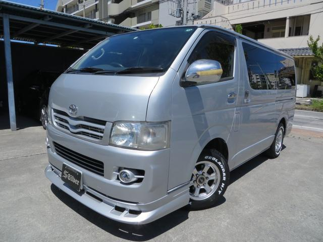 沖縄の中古車 トヨタ レジアスエースバン 車両価格 85万円 リ済込 2005(平成17)年 33.9万km シルバー