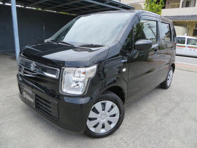 沖縄の中古車 スズキ ワゴンR 車両価格 99万円 リ済込 2020(令和2)年 0.3万km ブラック