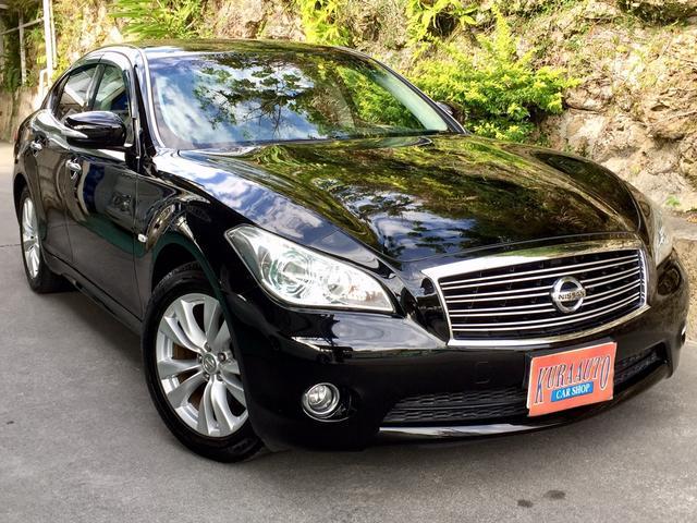 沖縄の中古車 日産 フーガ 車両価格 69万円 リ済別 2010(平成22)年 13.1万km ブラック