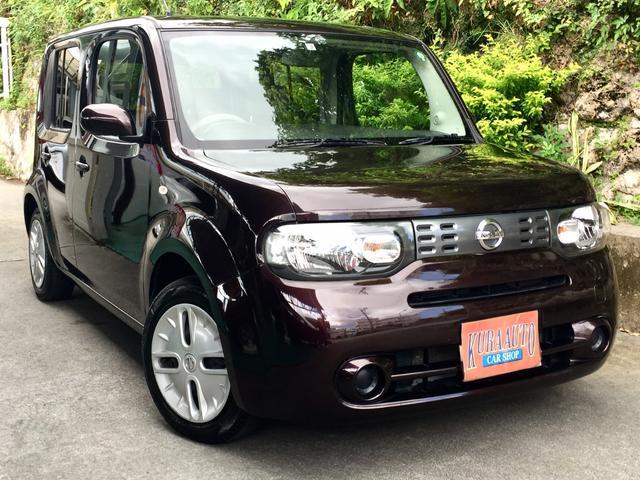 沖縄の中古車 日産 キューブ 車両価格 49万円 リ済別 2016(平成28)年 8.8万km Dブラウン