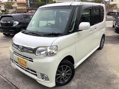 沖縄の中古車 ダイハツ タント 車両価格 89万円 リ済込 平成25年 4.9万K ホワイト