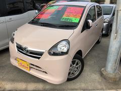 沖縄の中古車 ダイハツ ミライース 車両価格 63万円 リ済込 平成23年 3.1万K ピンク