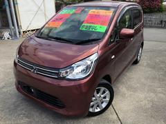 沖縄の中古車 三菱 eKワゴン 車両価格 73万円 リ済込 平成25年 4.0万K ブラウン