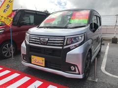 沖縄の中古車 ダイハツ ムーヴ 車両価格 133万円 リ済込 平成28年 1.0万K シルバー