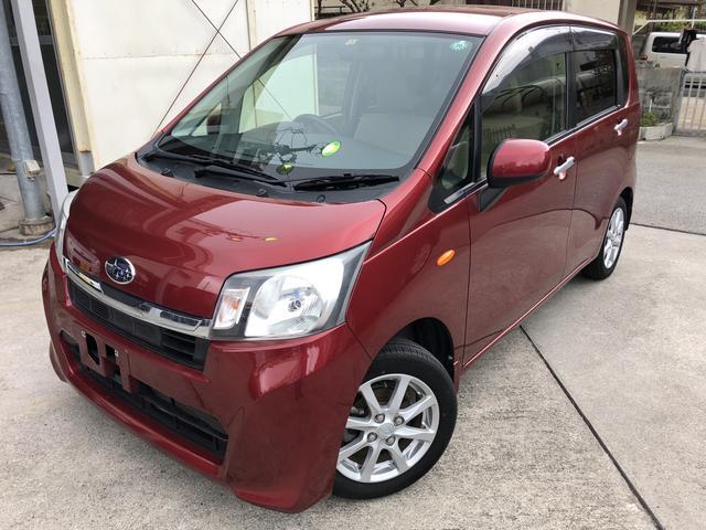 沖縄の中古車 スバル ステラ 車両価格 63万円 リ済込 平成25年 4.9万km レッド