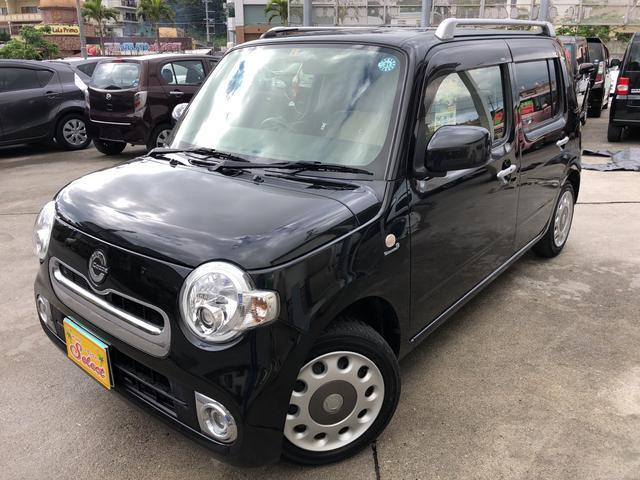 沖縄の中古車 ダイハツ ミラココア 車両価格 66万円 リ済込 平成26年 9.7万km ブラック