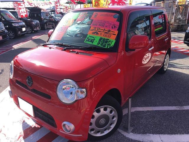 沖縄の中古車 ダイハツ ミラココア 車両価格 76万円 リ済込 平成23年 4.8万km レッド