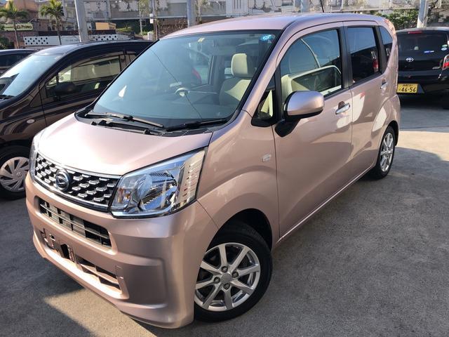沖縄の中古車 ダイハツ ムーヴ 車両価格 89万円 リ済込 平成27年 3.8万km ピンク