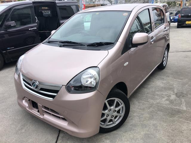 沖縄県の中古車ならミライース X メモリアルエディション 2年保証 修復無し 純正ナビ