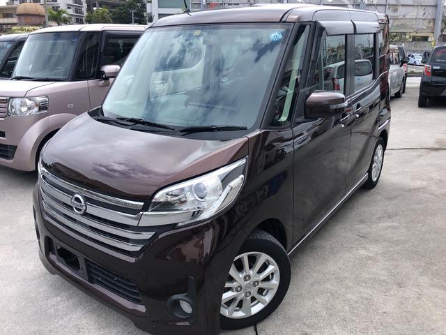 沖縄の中古車 日産 デイズルークス 車両価格 83万円 リ済込 平成26年 2.7万km ブラウン