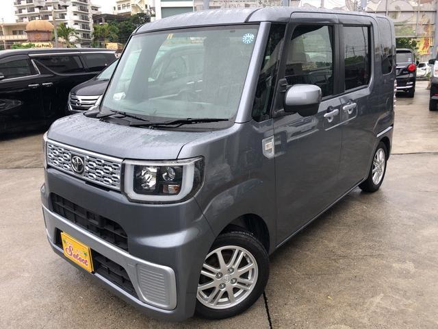 沖縄県の中古車ならピクシスメガ D SA 2年保証 修復歴無 純正TVナビ スマートアシスト