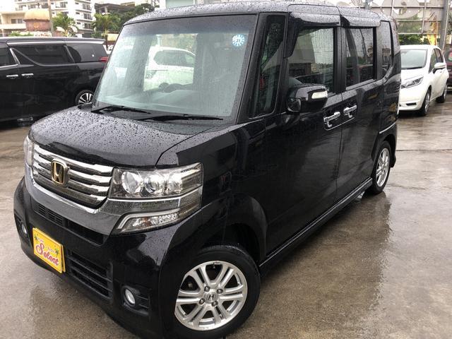 沖縄の中古車 ホンダ N-BOXカスタム 車両価格 86万円 リ済込 2012(平成24)年 4.8万km ワイン