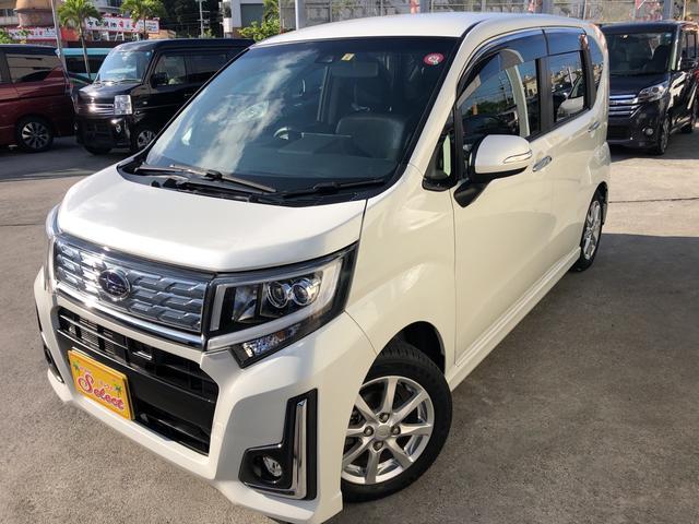 沖縄県の中古車ならステラ カスタムR スマートアシスト 2年保証 社外フルセグTVナビ