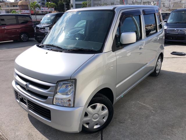 沖縄の中古車 スズキ ワゴンR 車両価格 43万円 リ済込 2006(平成18)年 4.9万km シルバー