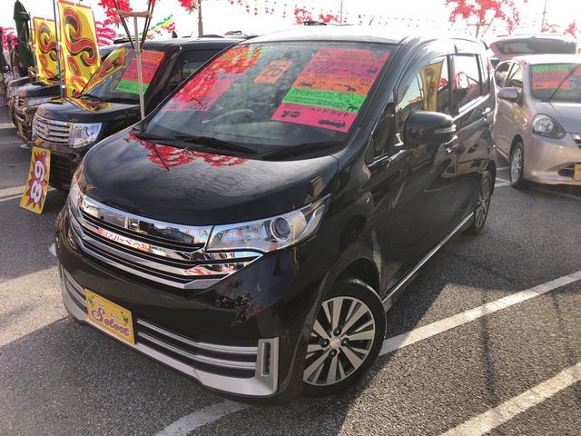 沖縄の中古車 日産 デイズ 車両価格 83万円 リ済込 2014(平成26)年 5.5万km ブラック