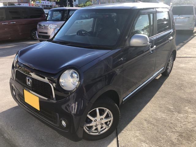 沖縄の中古車 ホンダ N-ONE 車両価格 76万円 リ済込 2013(平成25)年 8.5万km 紺
