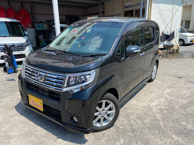 沖縄の中古車 ダイハツ ムーヴ 車両価格 89万円 リ済込 2015(平成27)年 5.0万km ブラック
