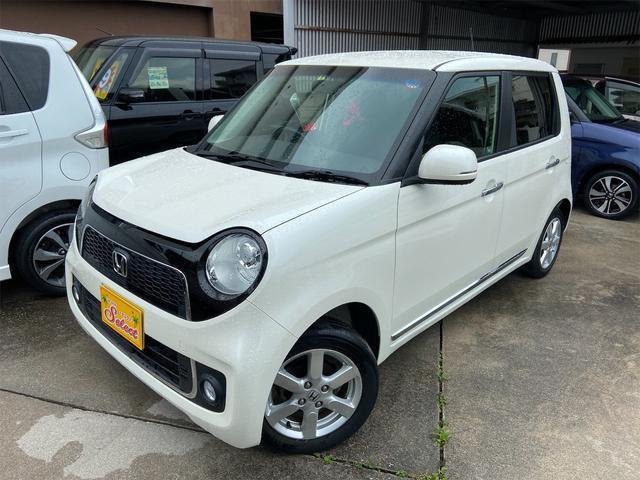 沖縄県の中古車ならN-ONE プレミアム 2年保証 修復無 純正CDチューナ オートライト