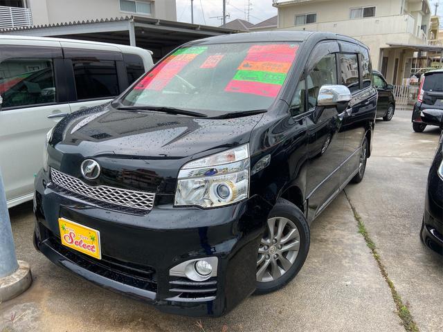 沖縄県の中古車ならヴォクシー ZS 煌Z 2年保証 修復無 TVナビ バックカメラ ETC