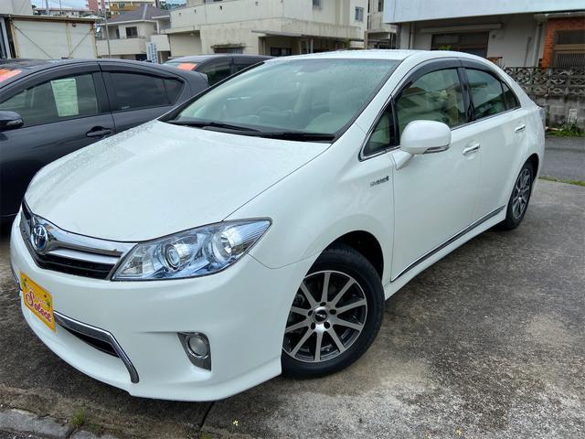 沖縄の中古車 トヨタ SAI 車両価格 109万円 リ済込 2013(平成25)年 6.6万km パール