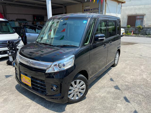 沖縄県の中古車ならスペーシアカスタム XS 2年保証 TVナビ バックカメラ ETC オートライト