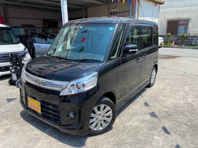 沖縄県沖縄市の中古車ならスペーシアカスタム XS 2年保証 TVナビ バックカメラ ETC オートライト