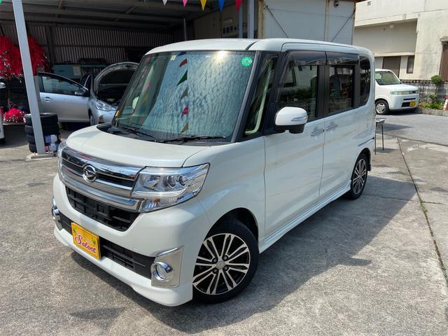 沖縄県の中古車ならタント カスタムRS SA 2年保証 TVナビ ターボ バックカメラ