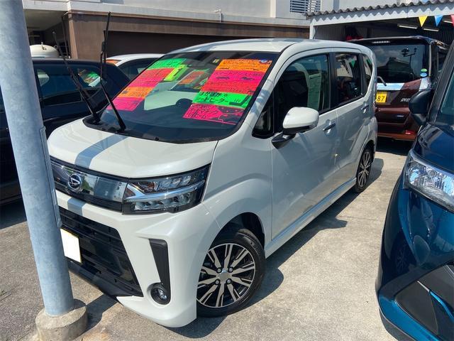 沖縄の中古車 ダイハツ ムーヴ 車両価格 136万円 リ済込 2019(令和1)年 0.4万km パール