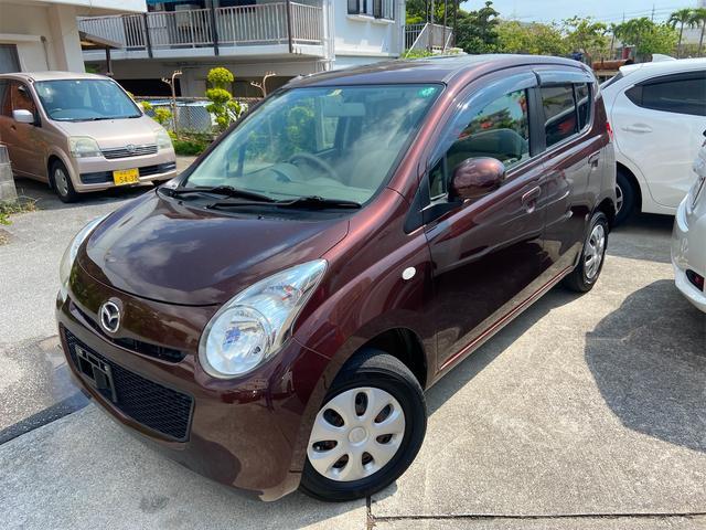 沖縄の中古車 マツダ キャロル 車両価格 46万円 リ済込 2013(平成25)年 6.8万km ブラウン