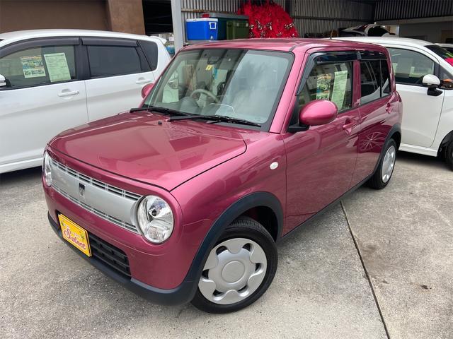 沖縄県の中古車ならアルトラパン L 2年保証 純正CDチューナー レーダーブレーキサポート アイドリングストップ プッシュスタート シートヒーター