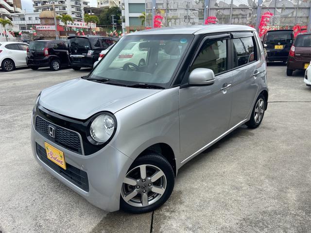 沖縄の中古車 ホンダ N-ONE 車両価格 72万円 リ済込 2013(平成25)年 7.2万km シルバー