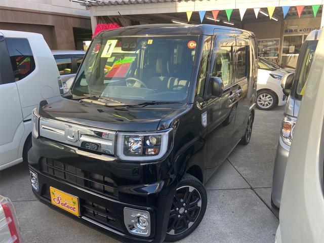 沖縄の中古車 ダイハツ ウェイク 車両価格 146万円 リ済込 2019(平成31)年 1.3万km ブラック