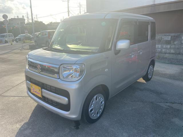 沖縄の中古車 スズキ スペーシア 車両価格 136万円 リ済込 2020(令和2)年 1.6万km シルバー