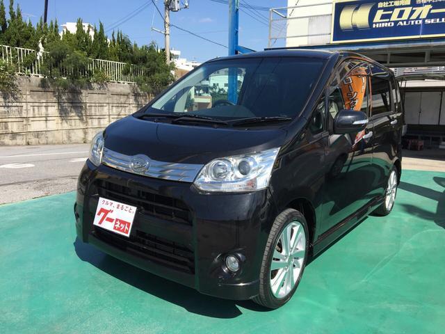沖縄の中古車 ダイハツ ムーヴ 車両価格 64万円 リ済込 平成23年 7.5万km ブラック