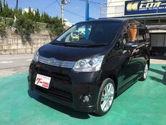 沖縄の中古車 ダイハツ ムーヴ 車両価格 64万円 リ済込 平成23年 7.5万K ブラック