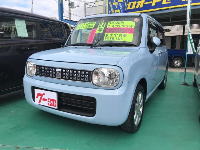 沖縄の中古車 スズキ アルトラパン 車両価格 49万円 リ済込 平成24年 8.3万km ブルー