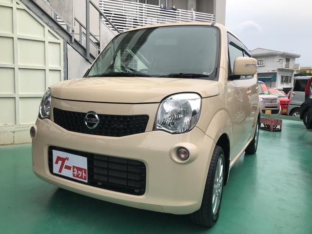 沖縄の中古車 日産 モコ 車両価格 54万円 リ済込 平成26年 6.9万km ベージュ