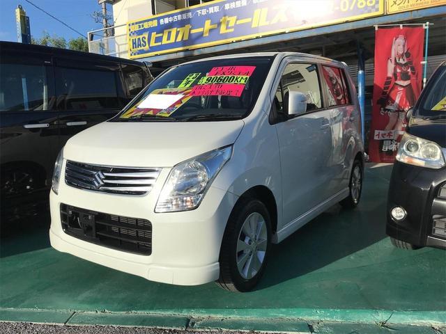 沖縄の中古車 スズキ ワゴンR 車両価格 34万円 リ済込 2011(平成23)年 9.1万km パール