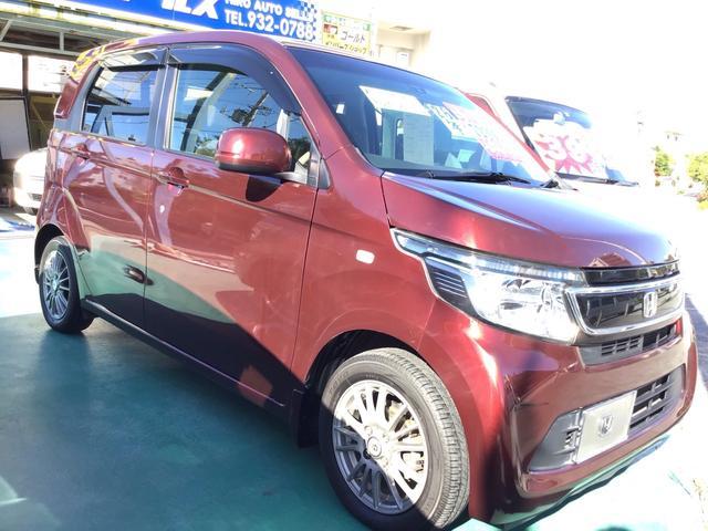 沖縄の中古車 ホンダ N-WGN 車両価格 47万円 リ済込 2014(平成26)年 7.2万km レッド