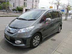 沖縄の中古車 ホンダ フリードハイブリッド 車両価格 119万円 リ済込 平成24年 9.1万K グレーM
