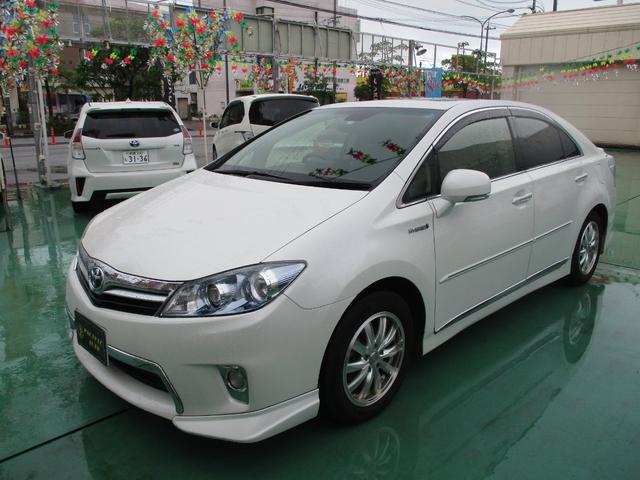 沖縄県の中古車ならSAI G サンルーフ フルセグTV・ナビ LEDヘッドライト